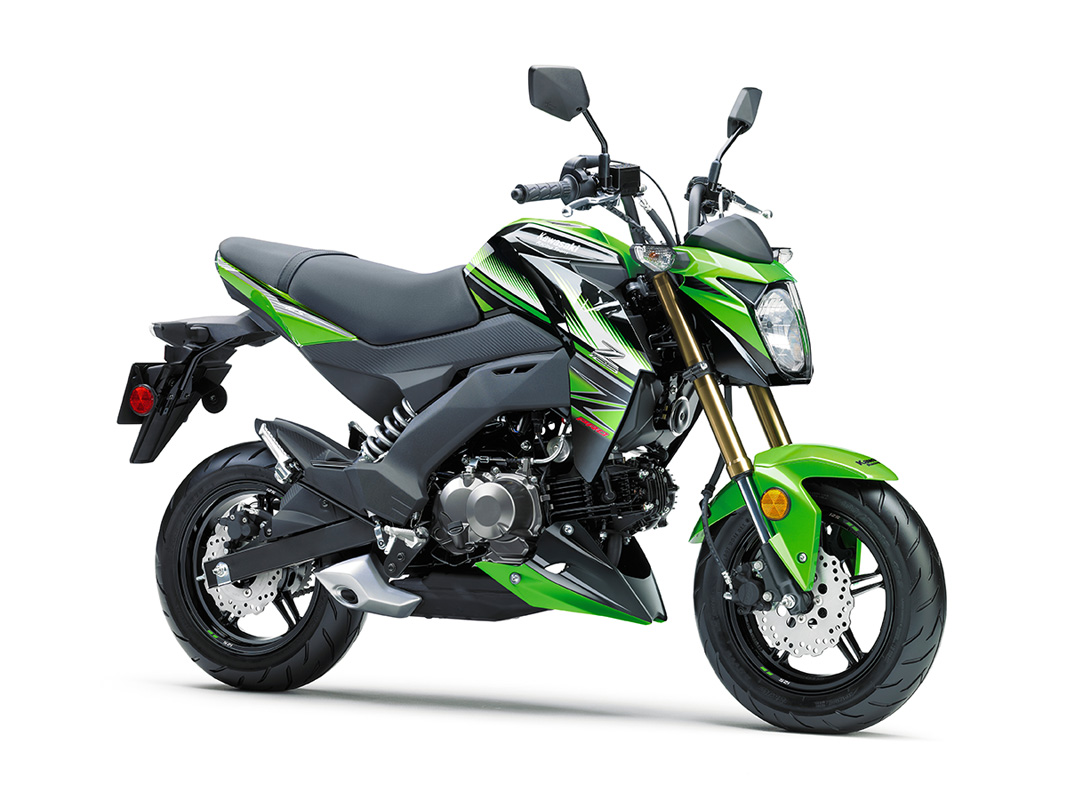 2017 Kawasaki Z125 Pro KRT Edition in Yuba City, California