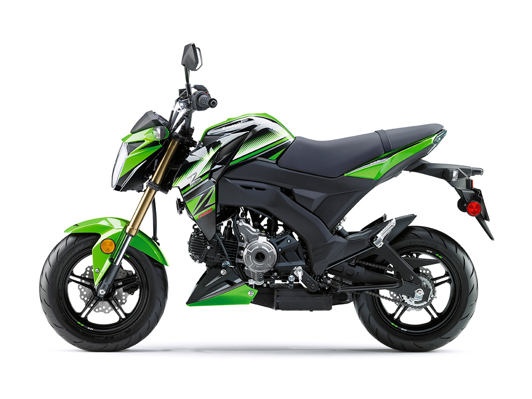 2017 Kawasaki Z125 Pro KRT Edition in Greenville, North Carolina