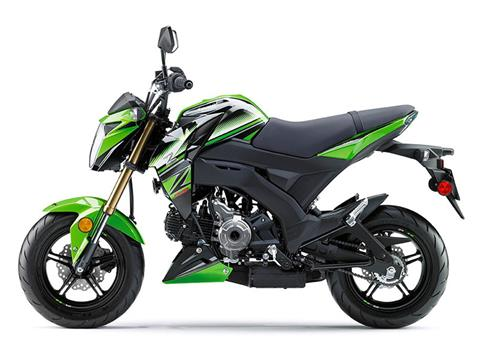 2017 Kawasaki Z125 Pro KRT Edition in Mount Vernon, Ohio