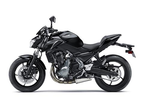 2017 Kawasaki Z650 ABS in Fort Pierce, Florida