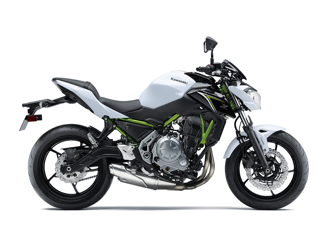 2017 Kawasaki Z650 ABS in Norfolk, Virginia