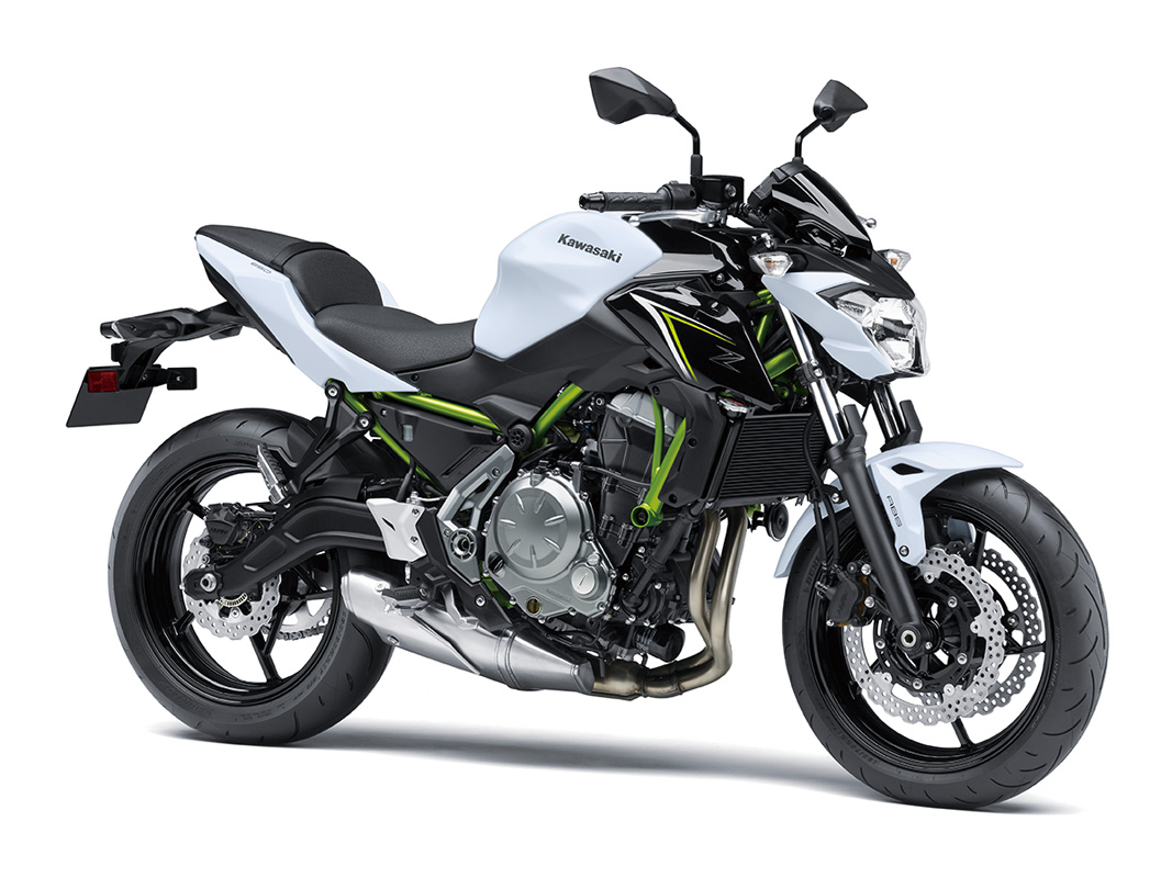 2017 Kawasaki Z650 ABS in Trenton, New Jersey
