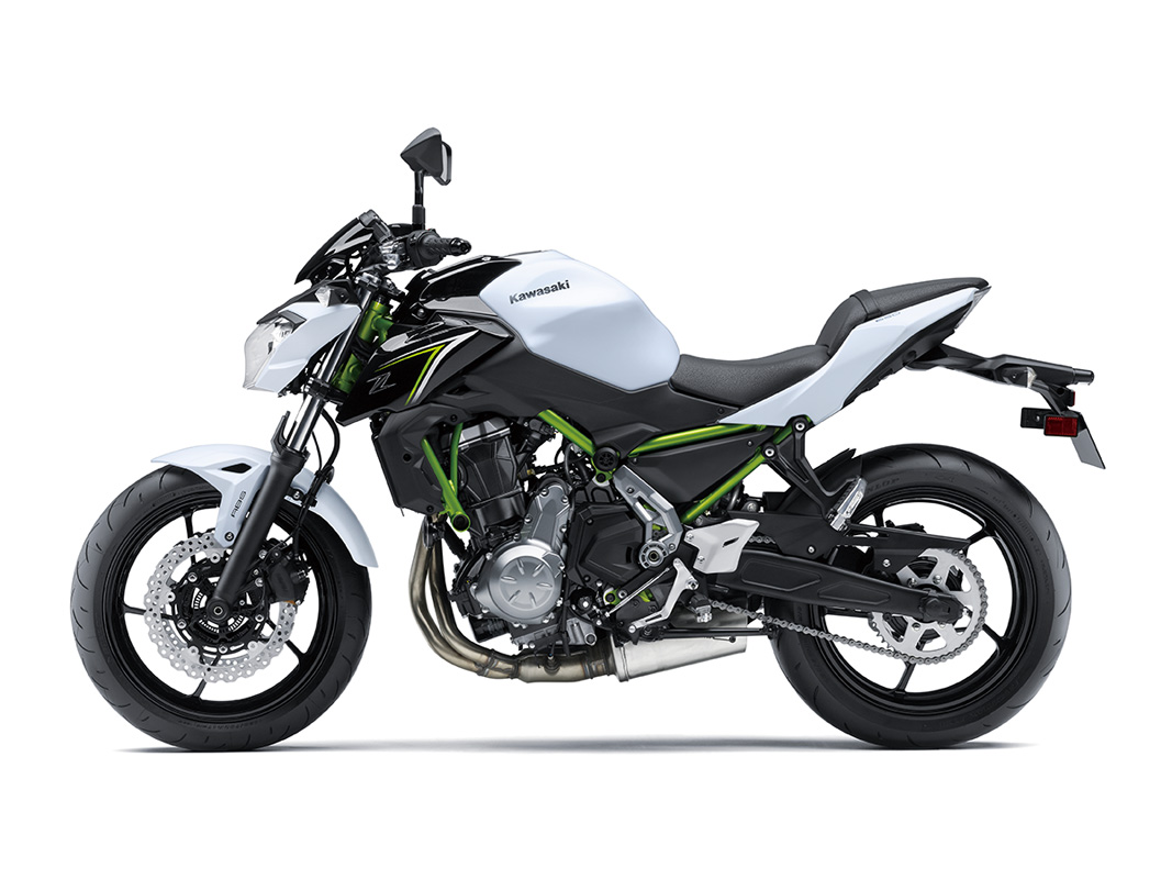2017 Kawasaki Z650 ABS in Stuart, Florida