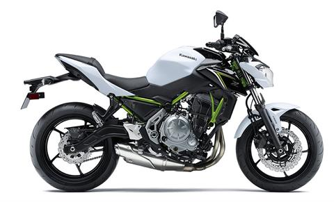 2017 Kawasaki Z650 ABS in Laurel, Maryland