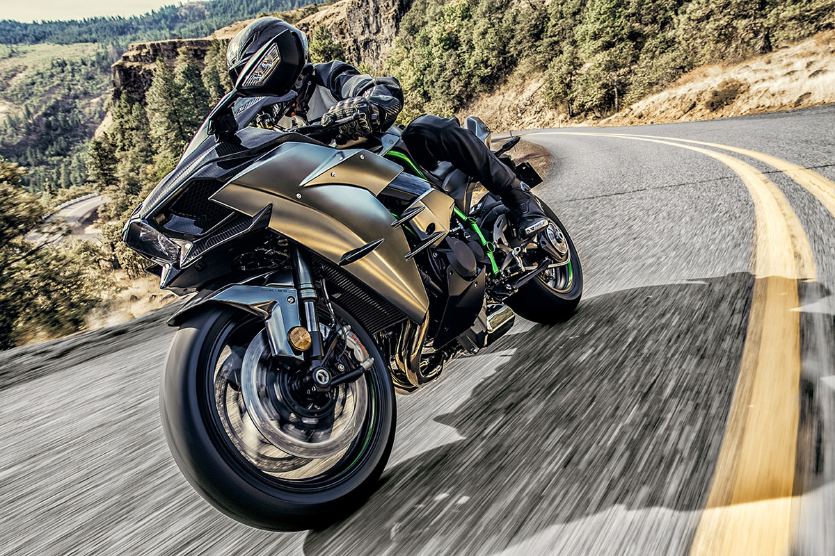 2017 Kawasaki NINJA H2 Carbon in Canton, Ohio
