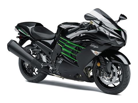 2017 Kawasaki NINJA ZX-14R ABS in Highland, Illinois