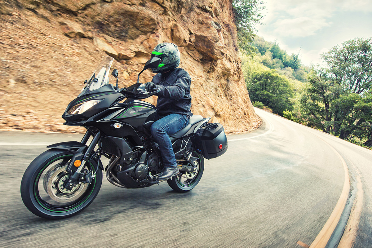 2017 Kawasaki VERSYS 650 LT in Hollister, California