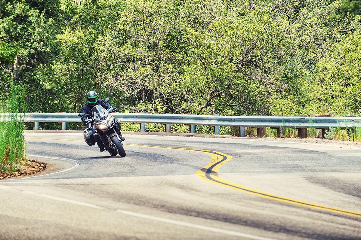 2017 Kawasaki VERSYS 650 LT in Paw Paw, Michigan