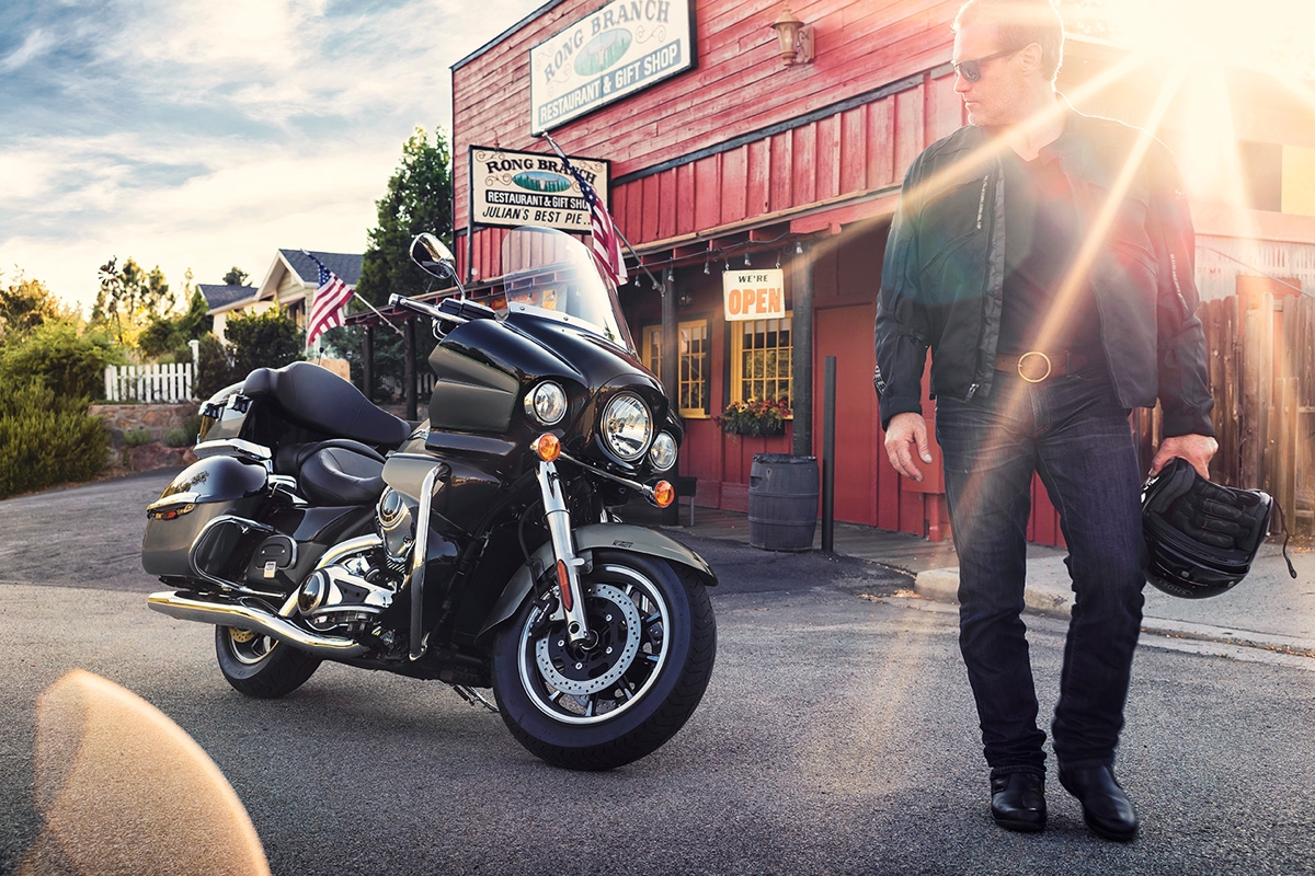 2017 Kawasaki Vulcan 1700 Voyager ABS in Mount Pleasant, Michigan