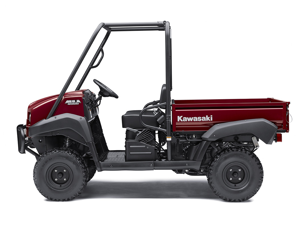 2017 Kawasaki Mule 4000 in Redding, California