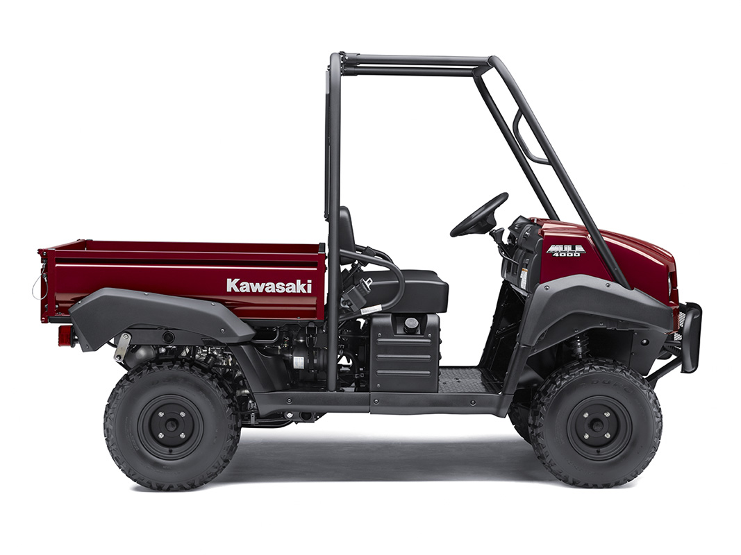 2017 Kawasaki Mule 4000 in Northampton, Massachusetts