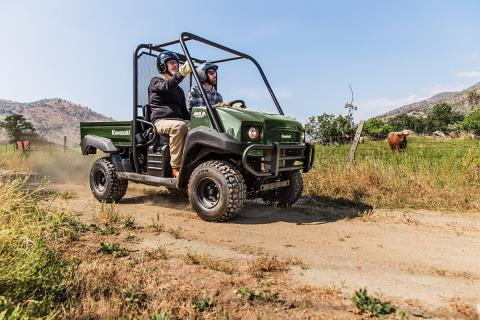 2017 Kawasaki Mule 4000 in De Forest, Wisconsin