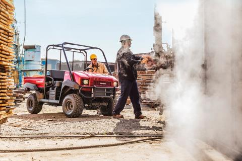 2017 Kawasaki Mule 4000 in Canton, Ohio