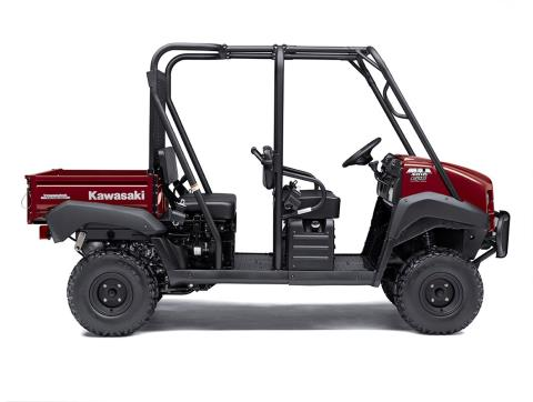 2017 Kawasaki Mule 4010 Trans4x4 in Greenville, North Carolina