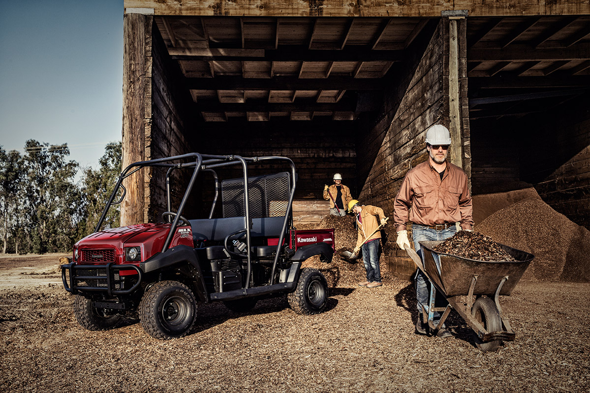 2017 Kawasaki Mule 4010 Trans4x4 in Norfolk, Virginia