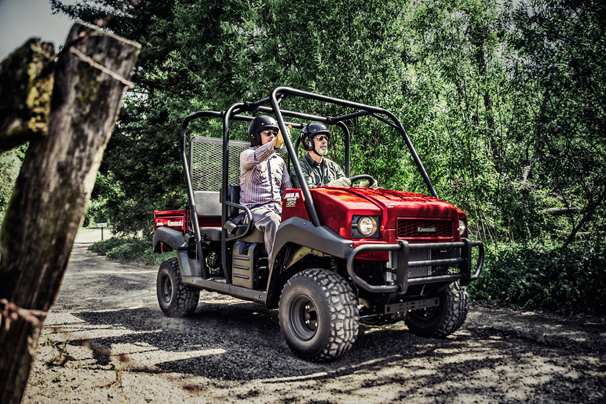 2017 Kawasaki Mule 4010 Trans4x4 in Hicksville, New York