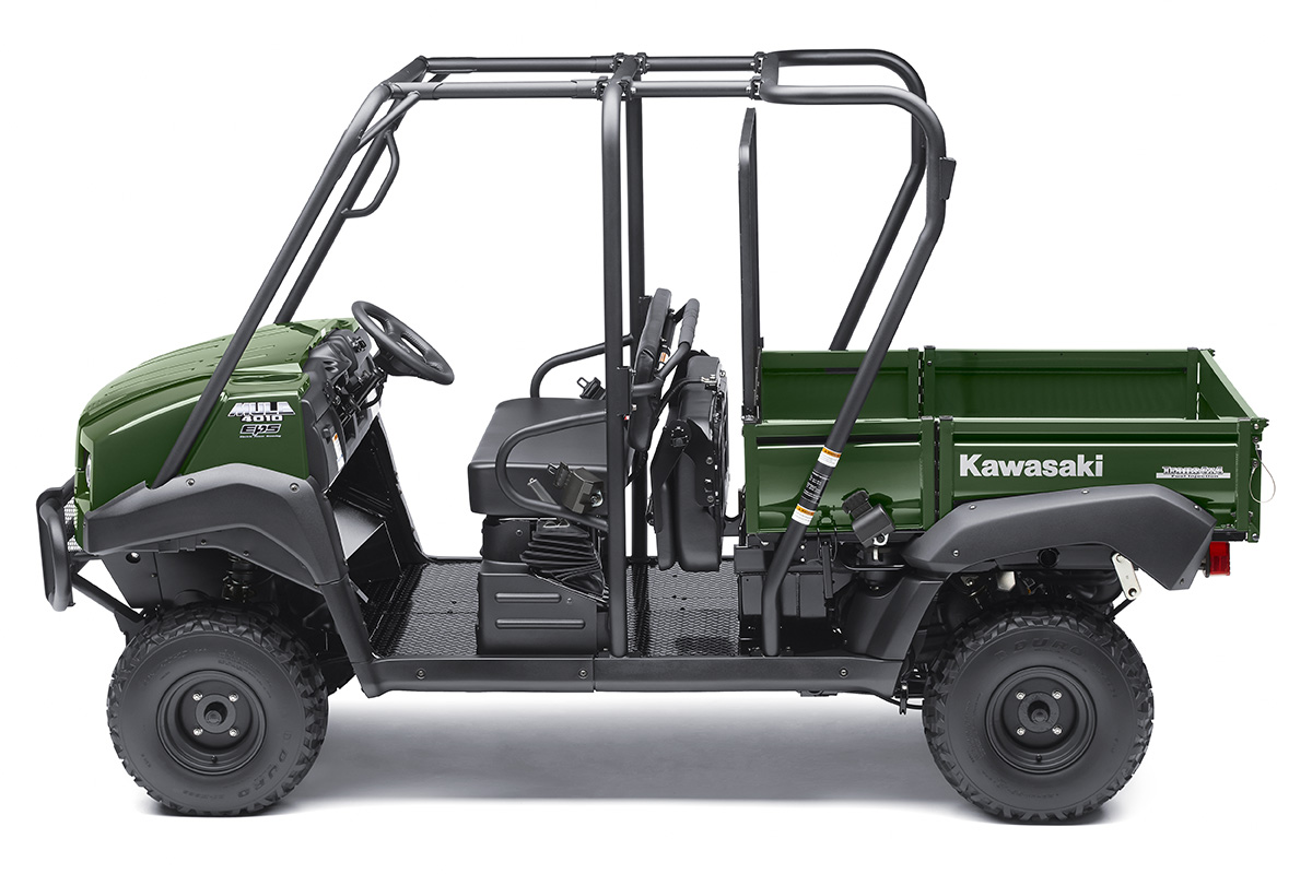 2017 Kawasaki Mule 4010 Trans4x4 in Ashland, Kentucky