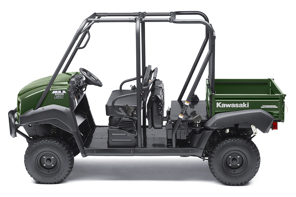 2017 Kawasaki Mule 4010 Trans4x4 in Dallas, Texas