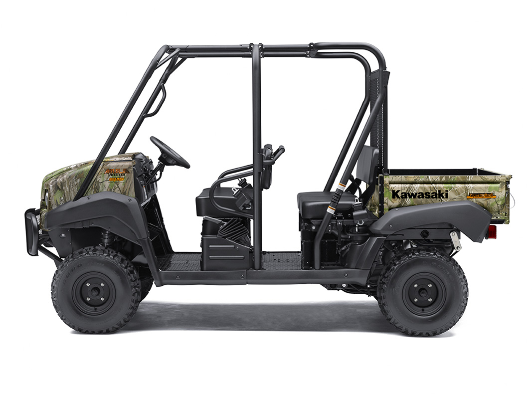 2017 Kawasaki Mule 4010 Trans4x4 Camo in Northampton, Massachusetts