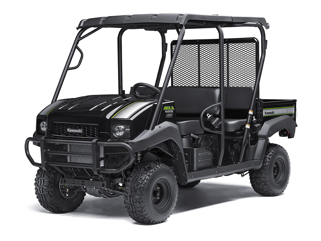 2017 Kawasaki Mule 4010 Trans4x4 SE in Asheville, North Carolina