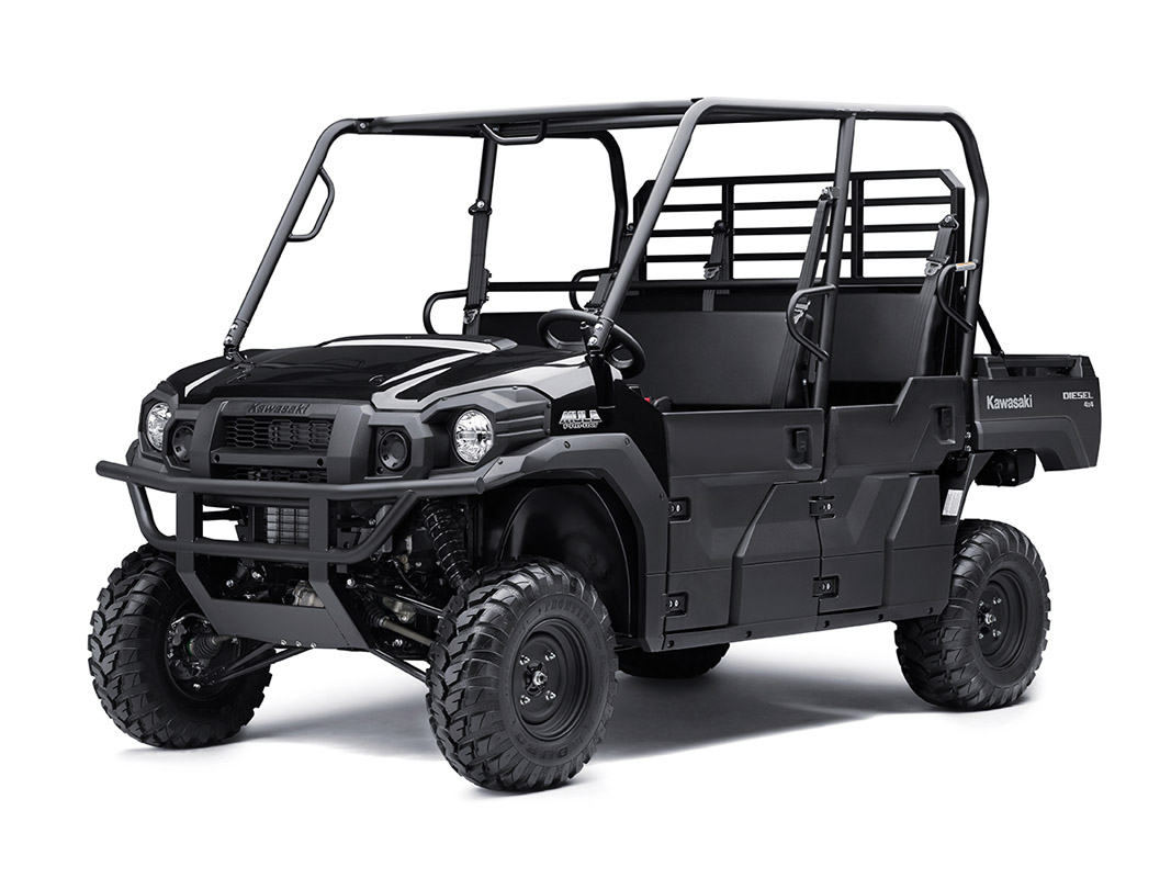 2017 Kawasaki Mule PRO-DXT Diesel in Fairfield, Illinois