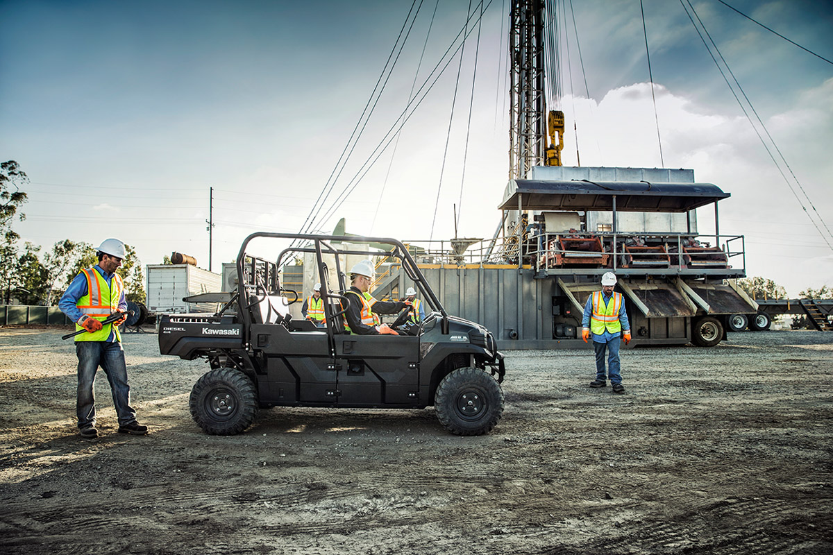 2017 Kawasaki Mule PRO-DXT Diesel in Johnstown, Pennsylvania