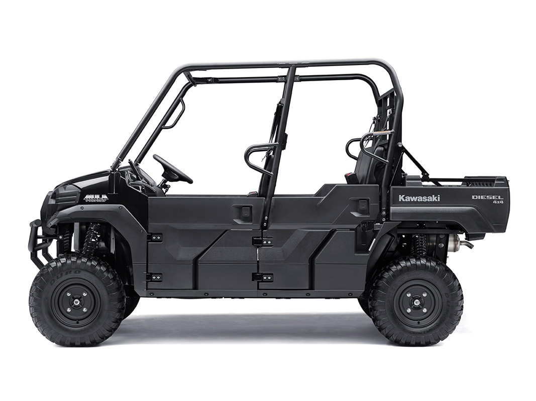 2017 Kawasaki Mule PRO-DXT Diesel in Freeport, Illinois