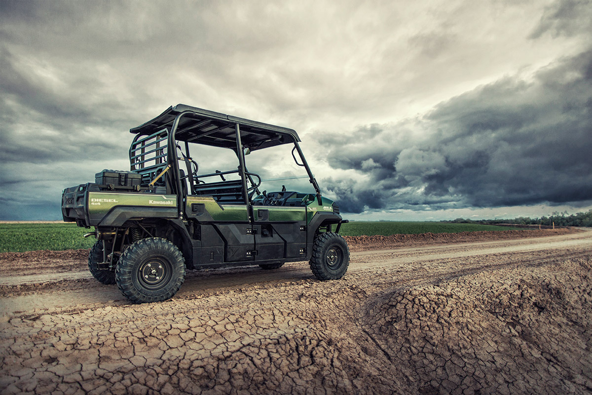 2017 Kawasaki Mule PRO-DXT EPS Diesel in Kenner, Louisiana