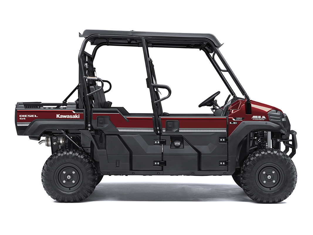 2017 Kawasaki Mule PRO-DXT EPS LE Diesel in Dubuque, Iowa