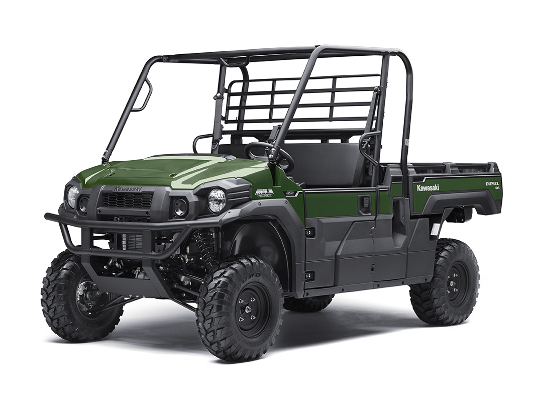 2017 Kawasaki Mule PRO-DX EPS Diesel in Paw Paw, Michigan