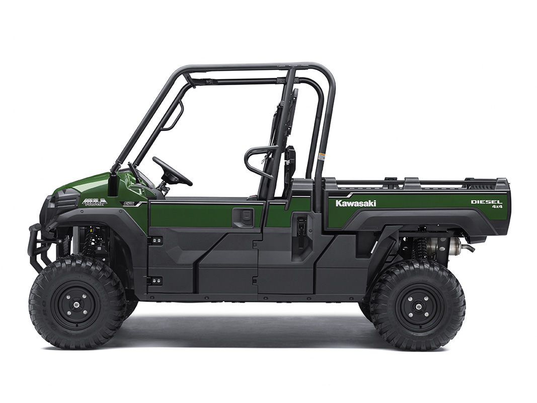 2017 Kawasaki Mule PRO-DX EPS Diesel in Mount Vernon, Ohio