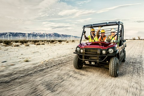 2017 Kawasaki Mule PRO-DX EPS LE Diesel in Fort Pierce, Florida
