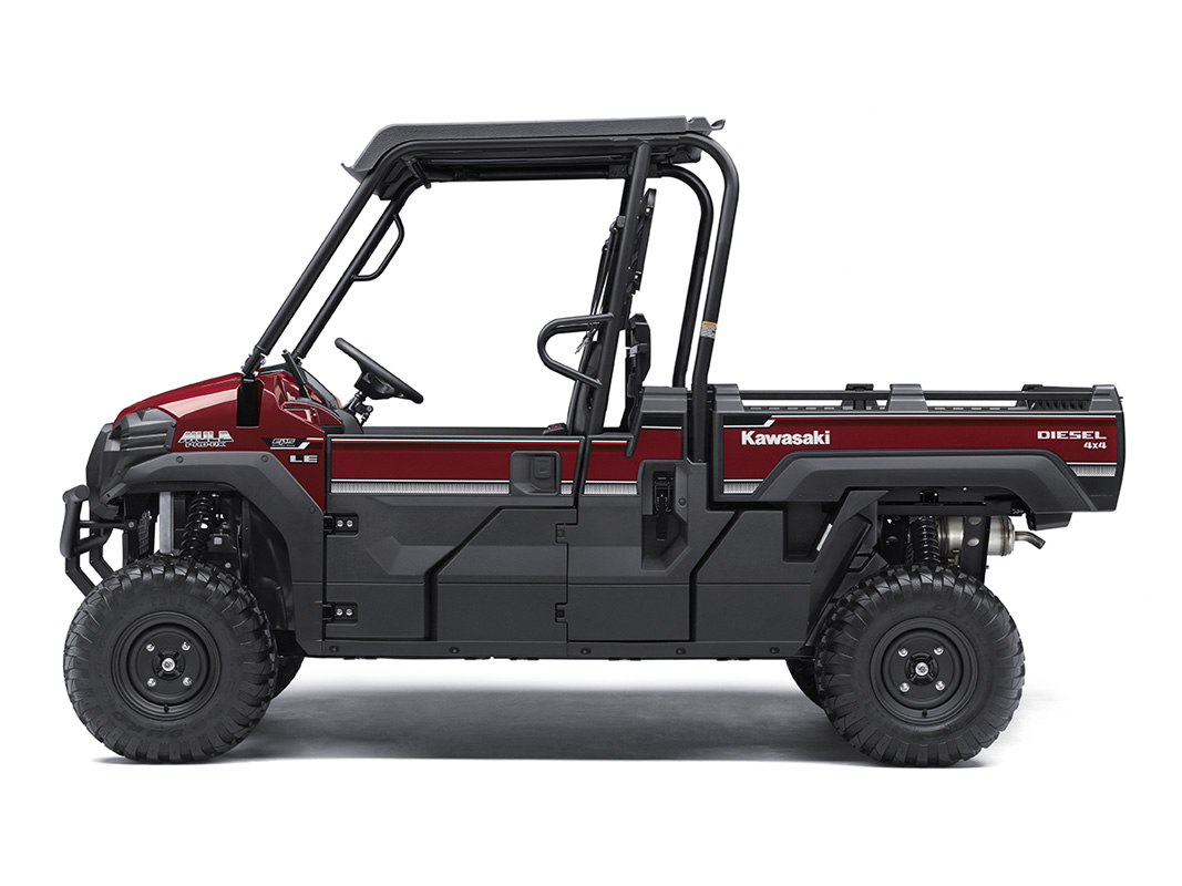 2017 Kawasaki Mule PRO-DX EPS LE Diesel in Asheville, North Carolina
