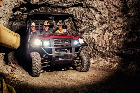 2017 Kawasaki Mule PRO-DX EPS LE Diesel in Pendleton, New York
