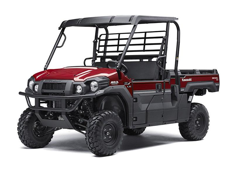 2017 Kawasaki Mule PRO-DX EPS LE Diesel in Winterset, Iowa