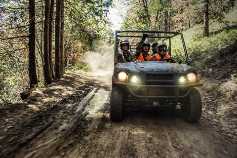 2017 Kawasaki Mule PRO-FXT EPS Camo in Paw Paw, Michigan