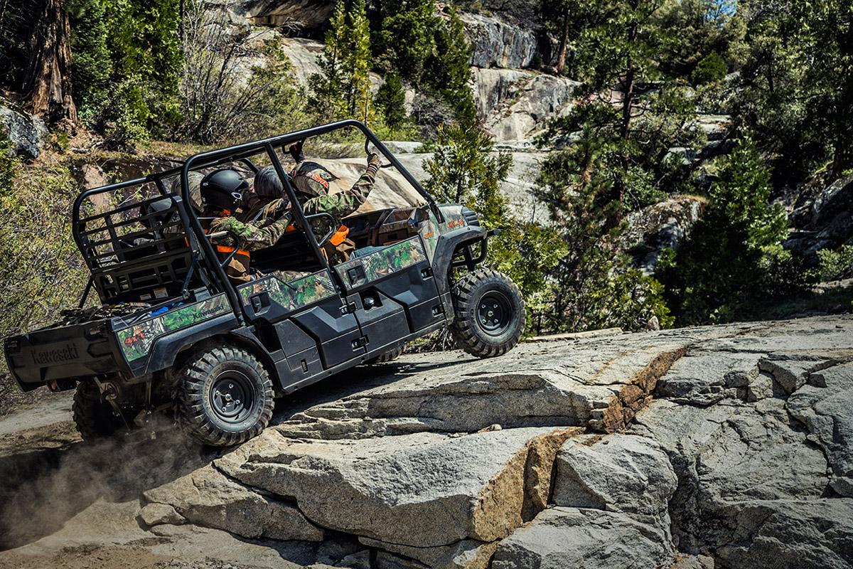 2017 Kawasaki Mule PRO-FXT EPS Camo in Johnson City, Tennessee