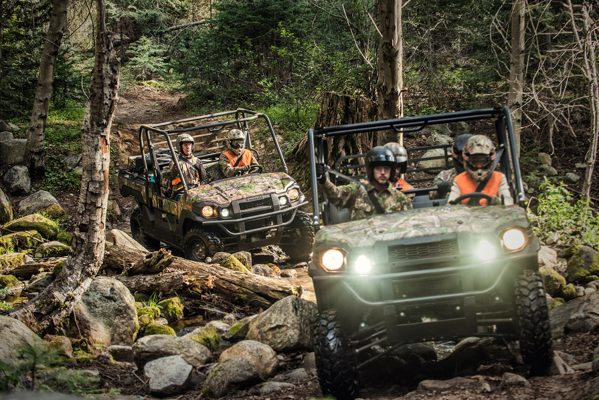 2017 Kawasaki Mule PRO-FXT EPS Camo in Norfolk, Virginia