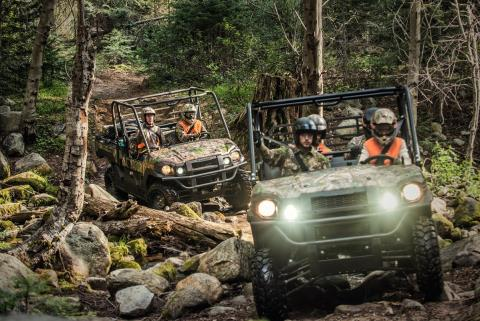 2017 Kawasaki Mule PRO-FXT EPS Camo in Greenwood Village, Colorado