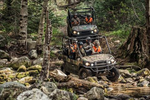 2017 Kawasaki Mule PRO-FXT EPS Camo in Fort Pierce, Florida