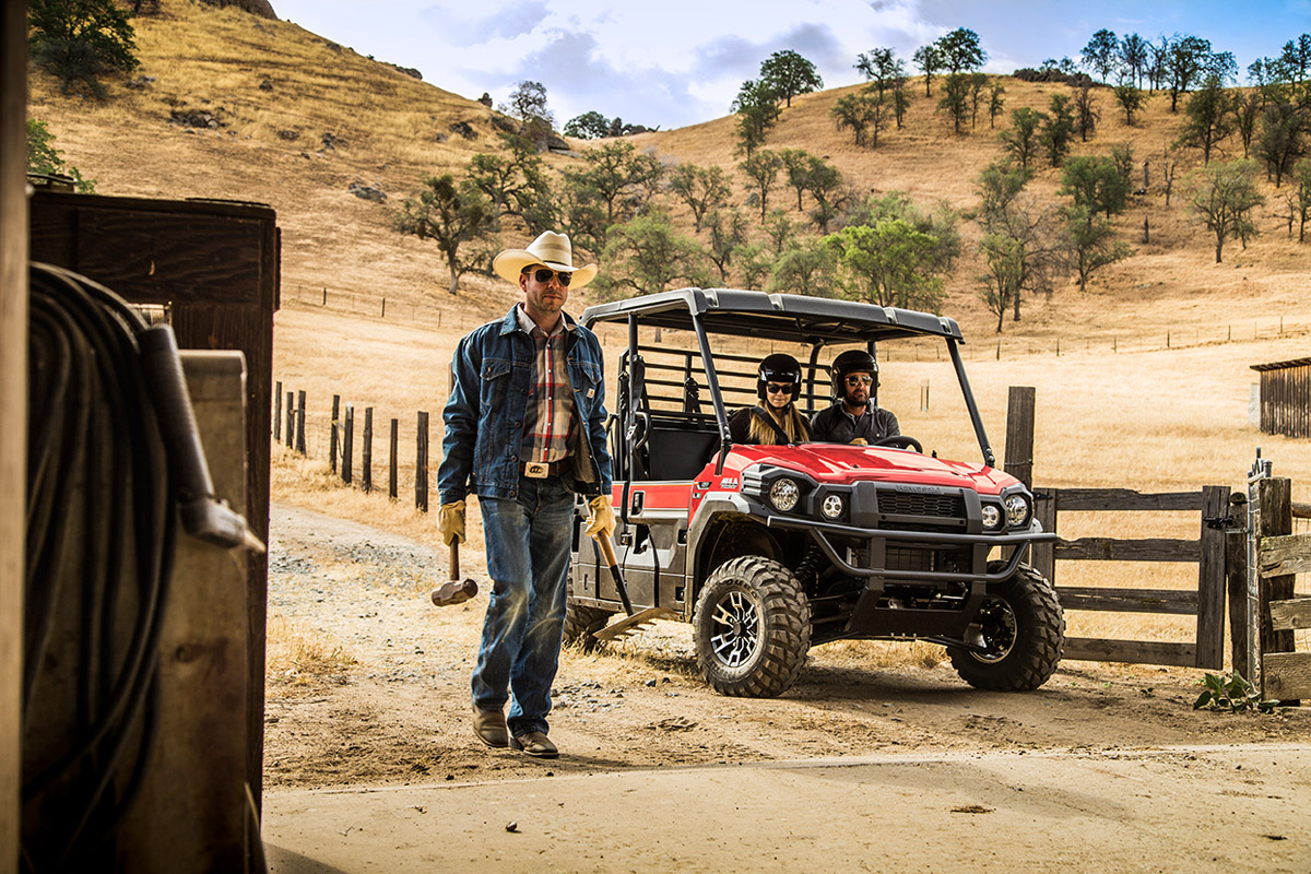2017 Kawasaki Mule PRO-FXT EPS LE in Redding, California
