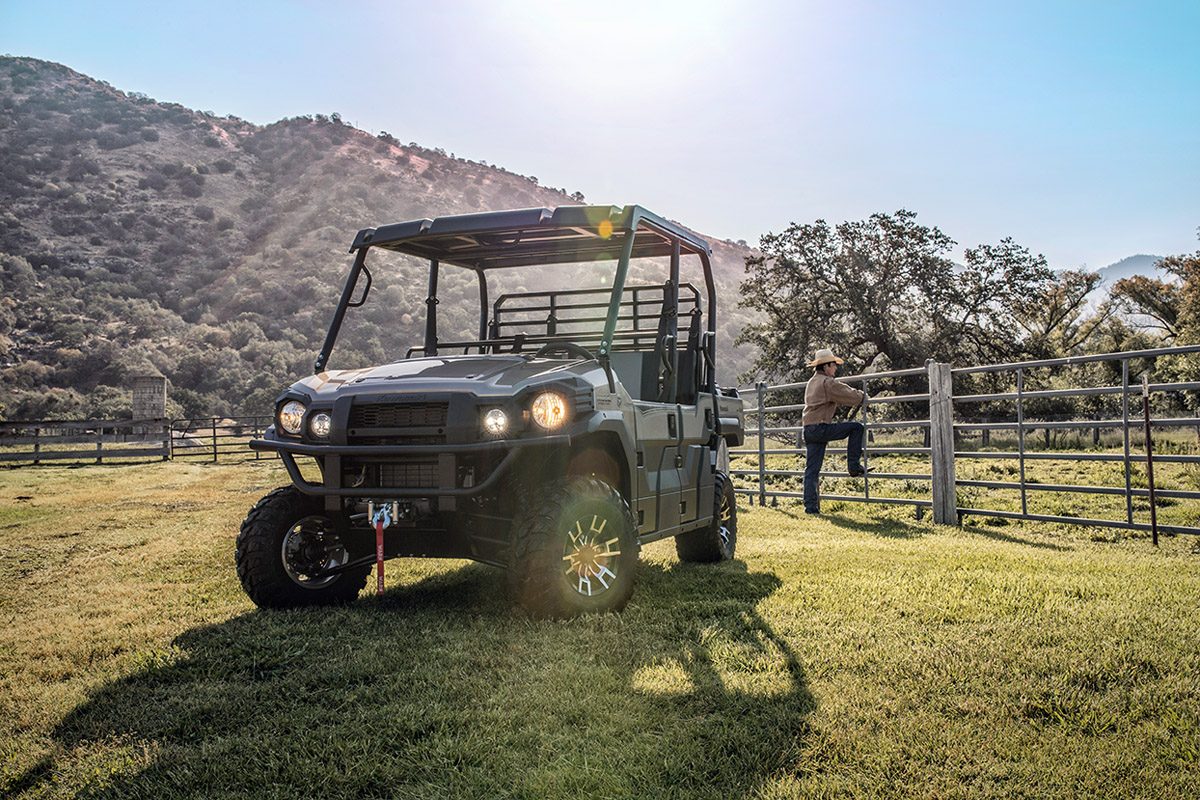 2017 Kawasaki Mule PRO-FXT Ranch Edition in Corona, California