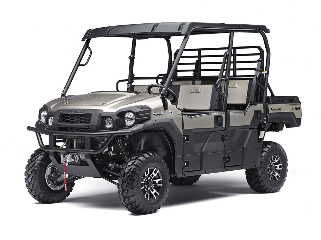 2017 Kawasaki Mule PRO-FXT Ranch Edition in Freeport, Illinois