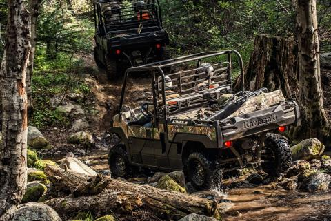2017 Kawasaki Mule PRO-FX EPS Camo in Paw Paw, Michigan