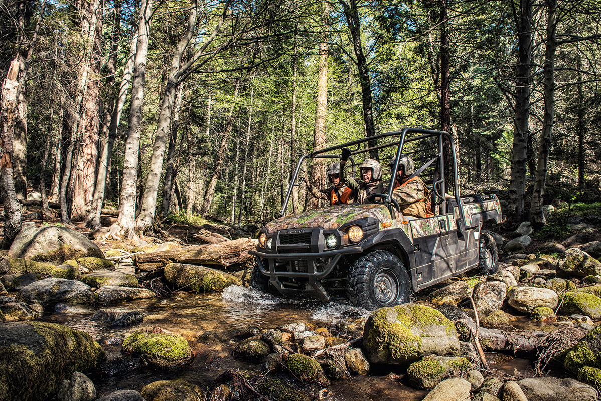 2017 Kawasaki Mule PRO-FX EPS Camo in Asheville, North Carolina