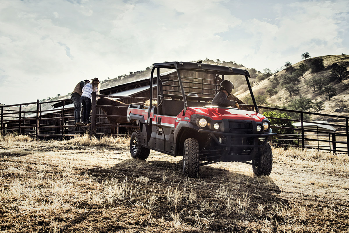 2017 Kawasaki Mule PRO-FX EPS LE in Colorado Springs, Colorado