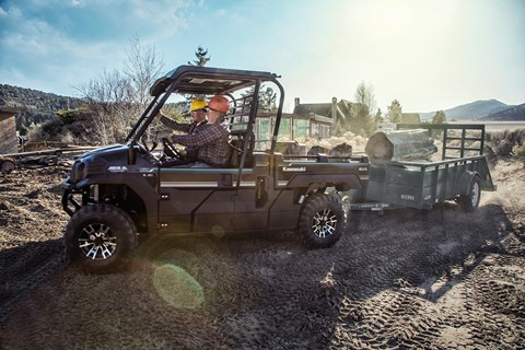 2017 Kawasaki Mule PRO-FX EPS LE in Mount Pleasant, Michigan