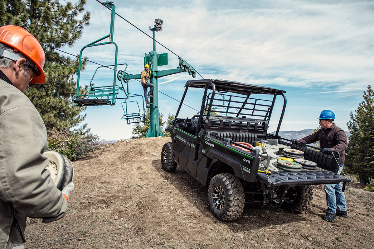 2017 Kawasaki Mule PRO-FX EPS LE in Asheville, North Carolina