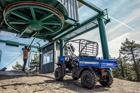 2017 Kawasaki Mule SX 4x4 XC in Highland, Illinois