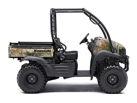2017 Kawasaki Mule SX 4x4 XC Camo in Jamestown, New York